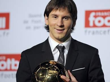 Messi já tem a Bola de Ouro