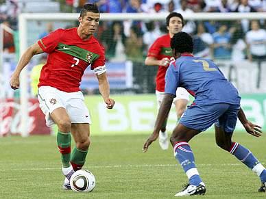 Portugal faz último treino antes do particular com Moçambique