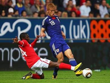 Inglaterra bate Japão com 2 auto-golos