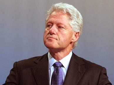 Bill Clinton presidente honorário da candidatura norte-americana