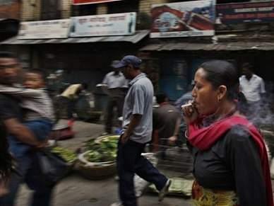 Nepal quer chuva para poder ver Mundial