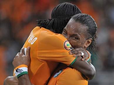Costa do Marfim vence e segue para os quartos-de-final