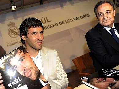 """Pérez """"Raúl é o Real Madrid"""""""