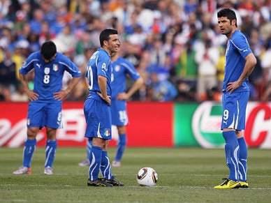 Italianos sem grandes problemas