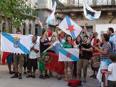 Galegos apoiaram Portugal no duelo ibérico
