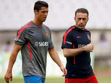 Finalização em destaque no segundo treino de Portugal