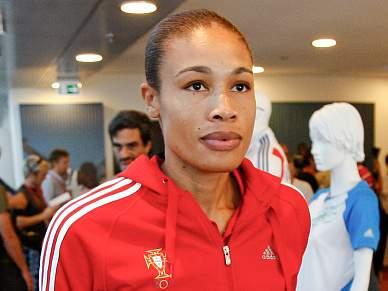 Naide Gomes não promete medalhas