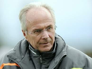 Eriksson preocupado com a lesão de Didier Drogba
