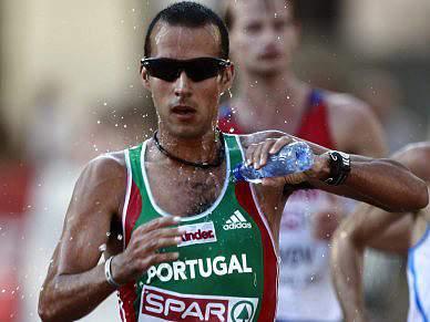 João Vieira «supercontente» com quarto lugar nos 20 km marcha