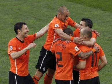 Holanda favorita frente ao Uruguai e Alemanha e Espanha