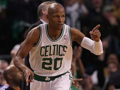 Ray Allen troca Boston Celtics pelos campeões Miami Heat