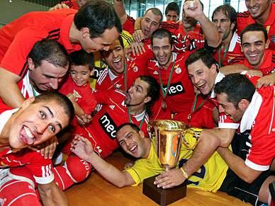 Benfica volta à final 20 anos depois de conquistar o troféu