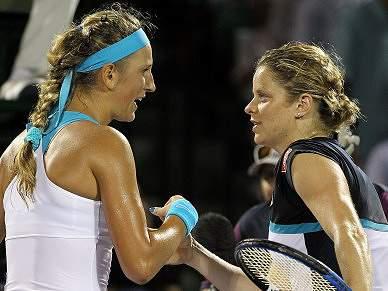 Clijsters dominada por Azarenka