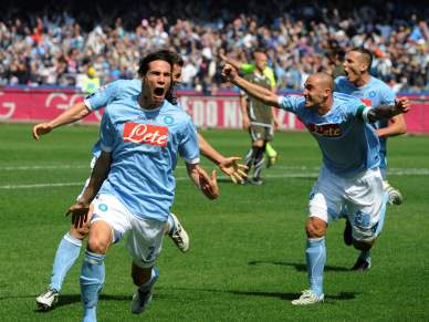 Nápoles bate Lazio, ultrapassa Inter e passa a perseguir AC Milan