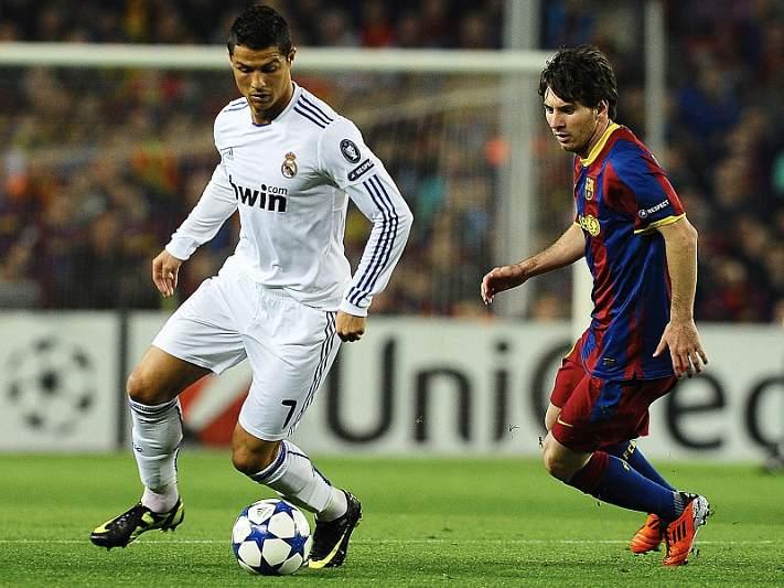 Messi leva vantagem sobre Ronaldo