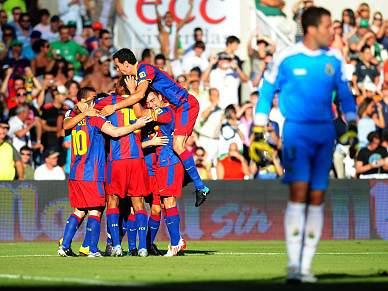 Barça tenta repor diferença para o Real