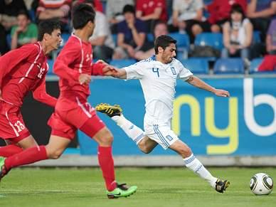 Coreia do Norte empata com Grécia 2-2