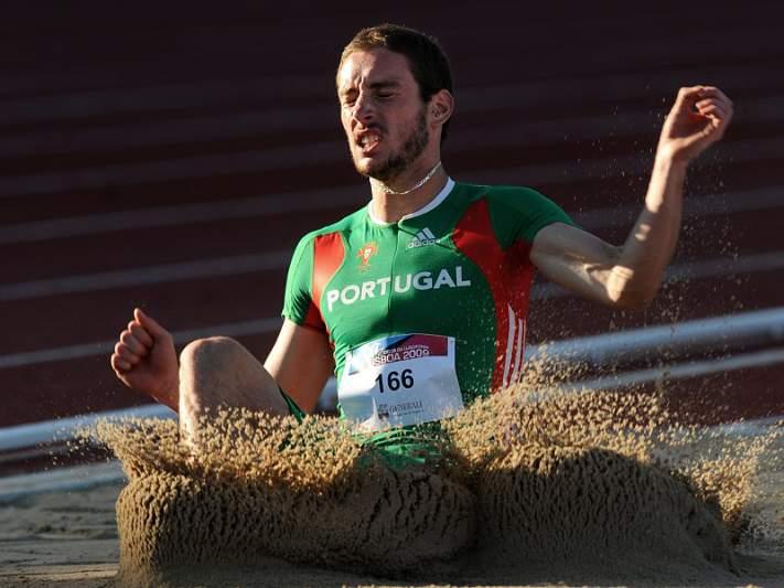 Marcos Chuva chegou aos oito metros