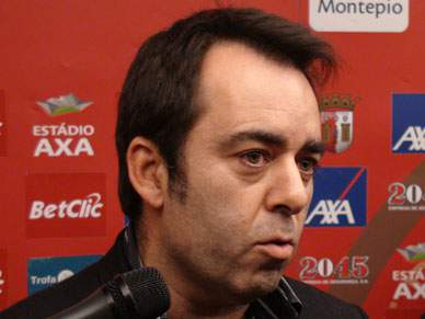 Carlos Freitas desejou boa sorte ao clube minhoto