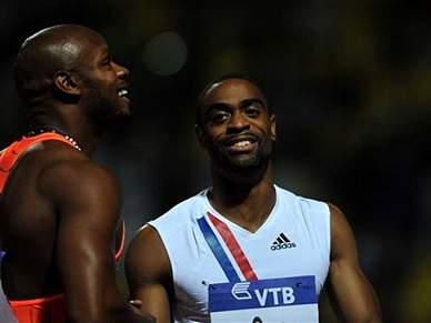 Tyson Gay faz a melhor marca do ano nos 100m
