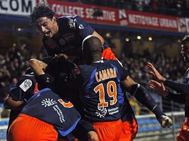 Montpellier partilha liderança com Rennes