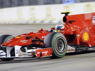 Alonso triunfa em Singapura