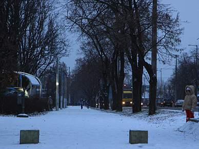 Europeu de futsal sob manto de neve
