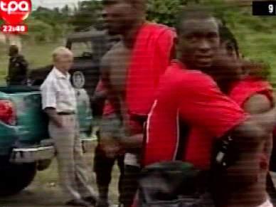 Selecção do Togo aterrou em Lomé