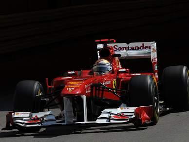 Alonso domina segunda sessão de treinos livres no Mónaco