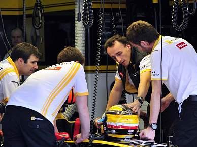 Kubica sai do hospital dentro de dez dias
