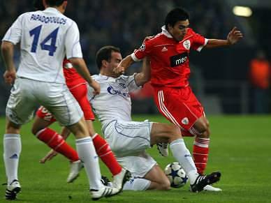 Benfica luta pela Europa
