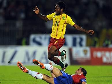 Sérvia bate Camarões em jogo de preparação