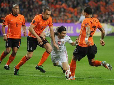 Holanda volta a vencer Hungria