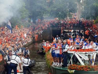 Amesterdão recebeu Laranja Mecânica em festa