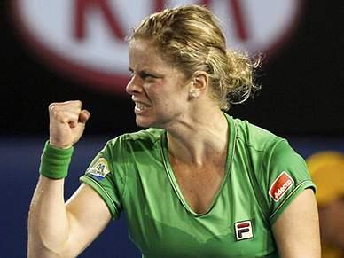 Clijsters vice-líder do ranking mundial