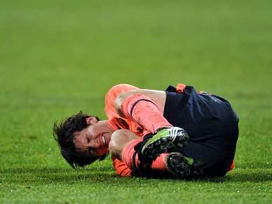 Messi em dúvida para dérbi de Barcelona