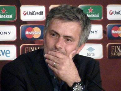 Mourinho de saída para o Real Madrid