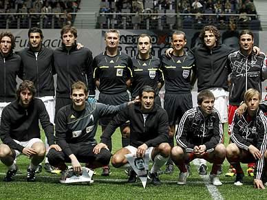 Figo, Ronaldo, Prohaska e Polster animam adeptos em Viena