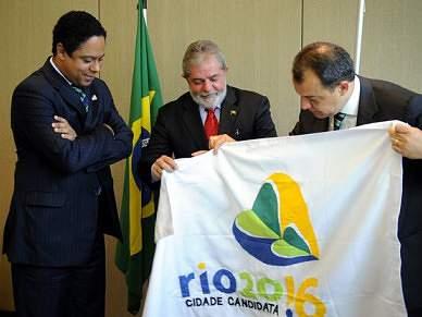 Brasil preparado para os melhores Jogos, Lula da Silva