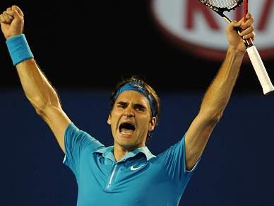 Federer apurado para as meias-finais