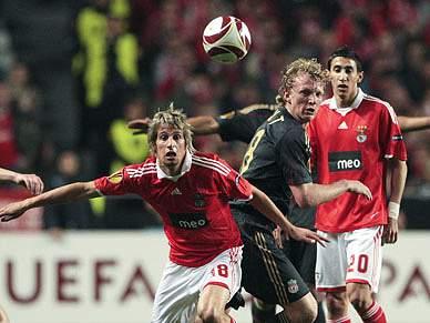 Apostas colocam Benfica fora