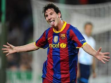 Messi sem lesão muscular, mas em dúvida para Villarreal