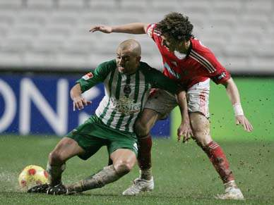 Evandro quer voltar a marcar ao Sporting