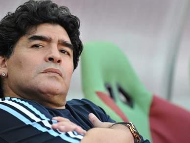 Maradona quer título mundial