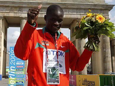 Kirui venceu Maratona