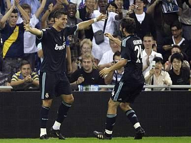 Cristiano Ronaldo com lesão