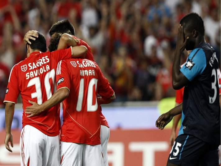 Benfica é feliz contra equipas russas