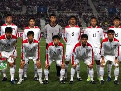 Coreia do Norte transmite jogos em directo