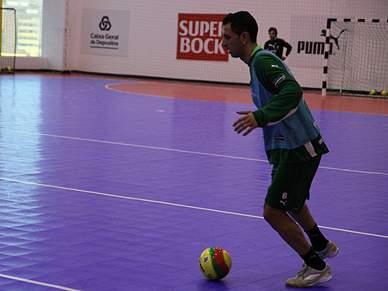 Sporting esmaga Alpendorada por 22-1