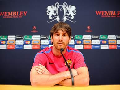Lionel Messi é 'virgem' por terras de sua Majestade